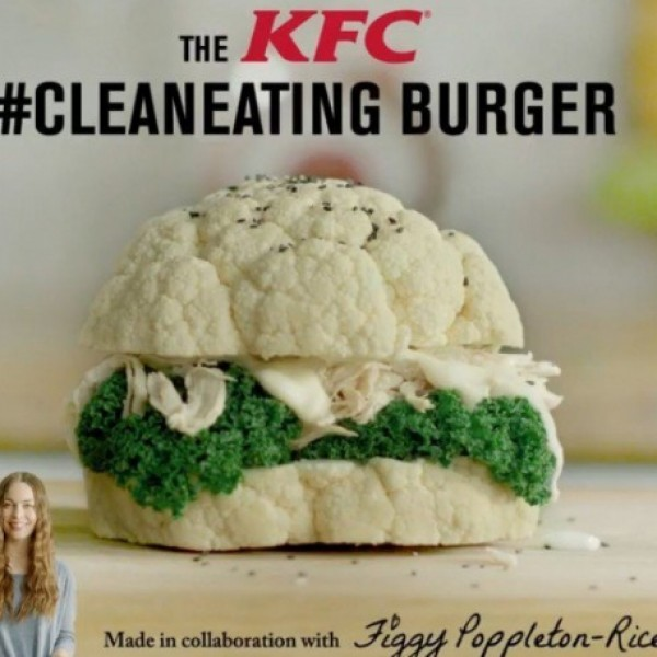 KFCs Clean Eating Burger - did you believe it?