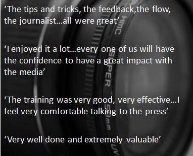 Media training quotes
