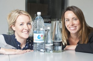 Nina Hands from Aberfield with Nicky Reeve from Water Brands