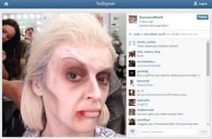 Fearne Cotton zombie