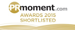 PRmoment Awards Shortlist Badge