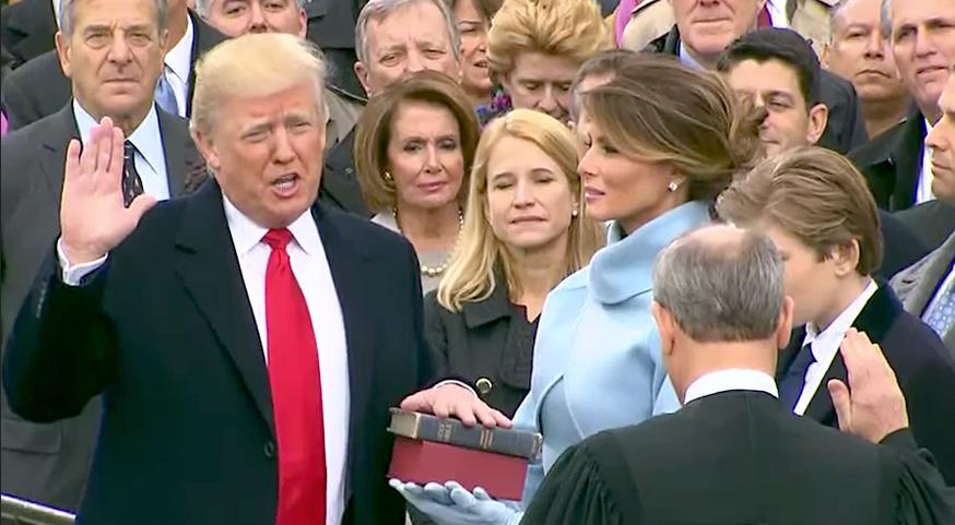 Donald Trump inauguration Capitol Building